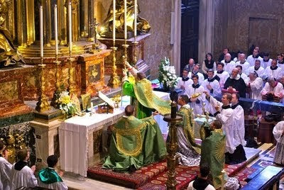 Burke, pontifical High Mass