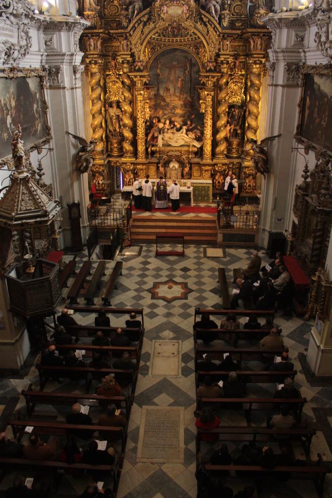 Primera Misa tradicional en Iglesia de la Caridad. Año 2012