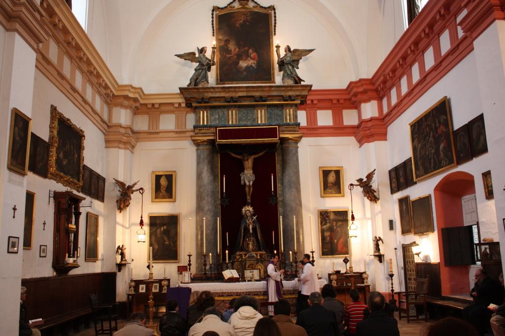 Primera Misa tradicional Oratorio Escuela de Cristo. Año 2013