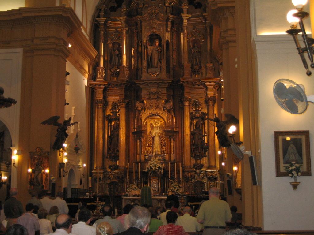 Primera Misa tradicional en la Parroquia de San Bernardo. Año 2007