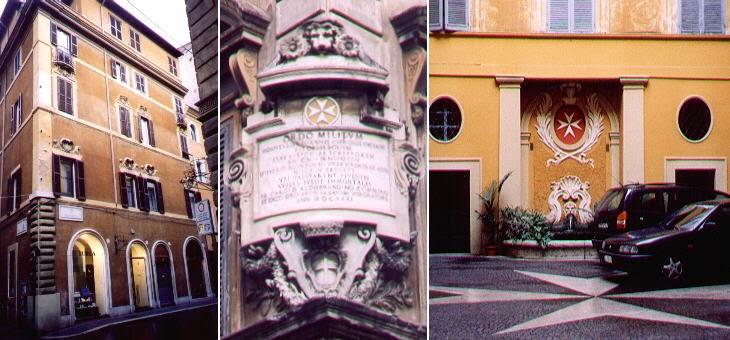 El Palazzo Magistrale, en Via dei Condotti, cerca de Piazza di Spagna