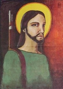 Alfredo Rostgaard Cristo guerrillero 1969