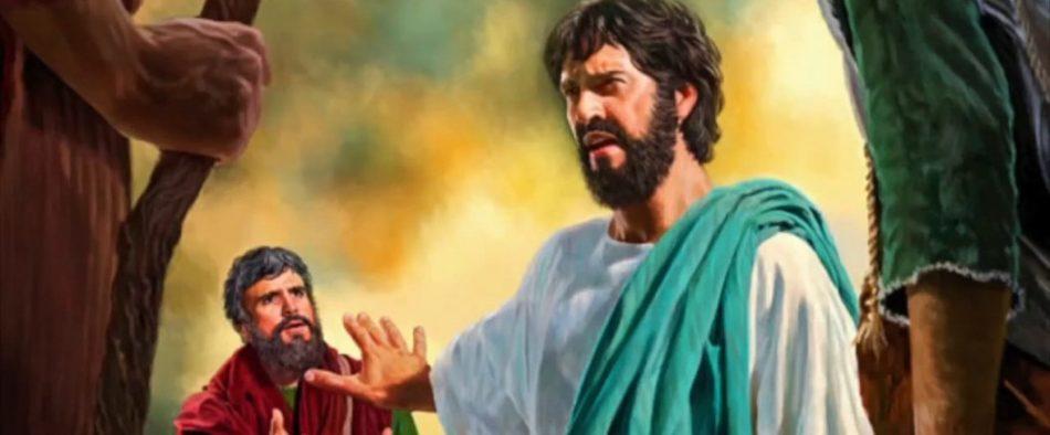 Tus pensamientos no son de Dios, sino de los hombres
