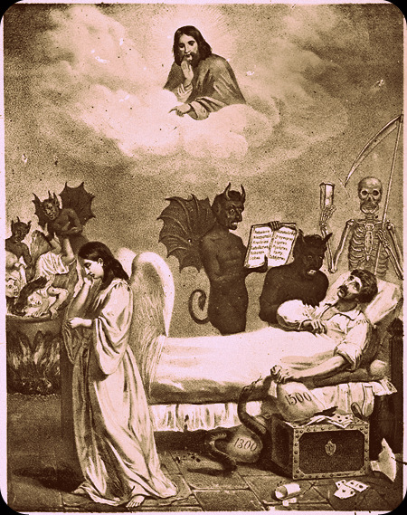 Muerte del pecador bnc