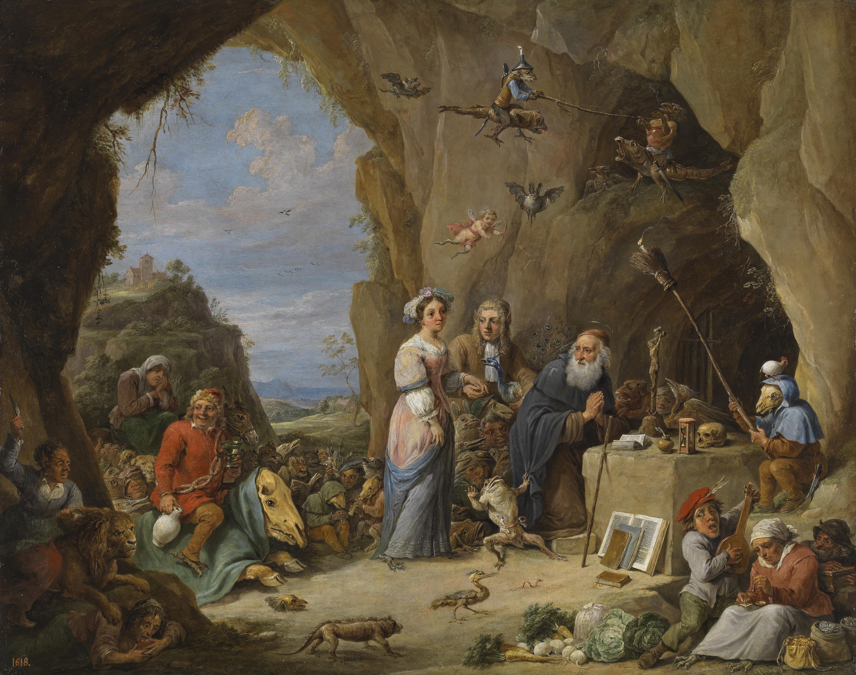 las-tentaciones-de-san-antonio-abad-david-teniers