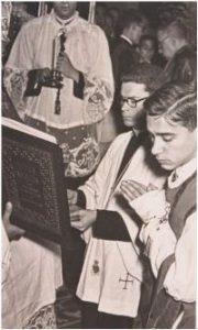 Ordenación del Padre Gálvez 1956