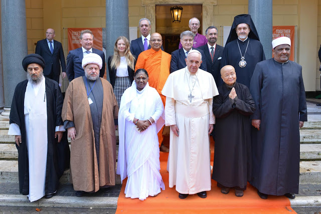 El Papa Francisco durante un encuentro ecuménico