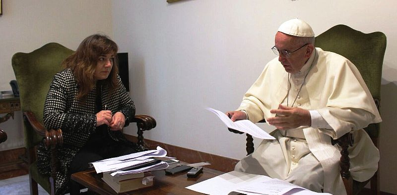Entrevista papa Bergoglio