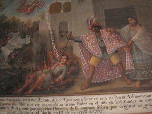 Martirio de Cristóbal de Tlaxcala