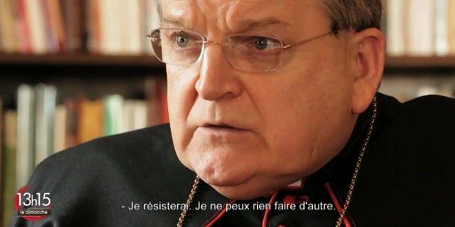 El Cardenal Burke declara que resistirá si el Papa persiste en esta dirección