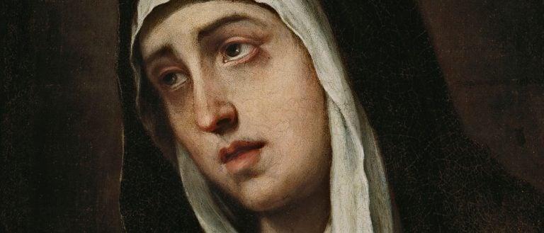 La Virgen María es la Reina de los Mártires
