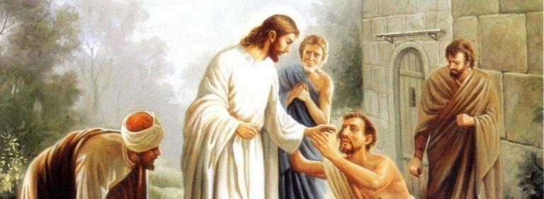 De la vida que Cristo dio al ciego mendigo