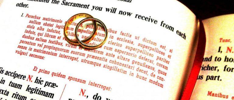 ¿No se altera acaso la doctrina sobre el Matrimonio?