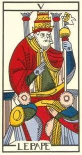 Tarot de Jean Dodal, III Imperatris, restauration par JC Flornoy ...